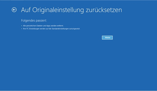 Windows 8 Bootmenue