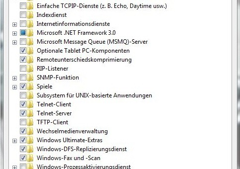 Windowsfunktionen