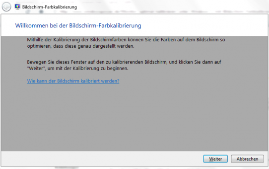 Windows 7 - Monitor richtig kalibrieren